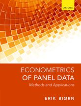 Econometrics of Panel DataMethods and Applications