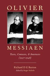 Olivier MessiaenTexts, Contexts, and Intertexts (1937–1948)$