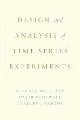 Design and Analysis of Time Series Experiments - Oxford Scholarship Online