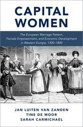 Capital Women – The European Marriage Pattern, Female Empowerment and Economic Development in Western Europe 1300-1800 | Oxford Scholarship Online