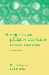 Hospital-based Palliative Care Teams