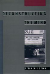 Deconstructing the Mind$