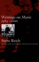 Writings on Music 1965–20001965-2000$