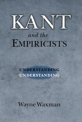 Kant and the Empiricists