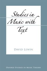 Studies in Music with Text$