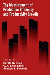 The Measurement of Productive Efficiency and Productivity Change$