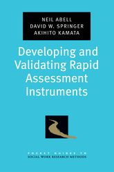 Developing and Validating Rapid Assessment Instruments | Oxford Scholarship Online