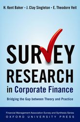 Survey Research in Corporate Finance$