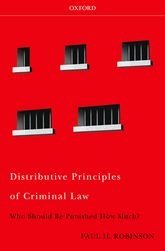 Distributive Principles of Criminal LawWho Should be Punished How Much