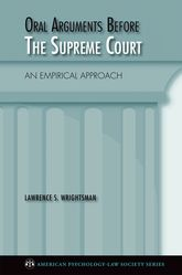 Oral Arguments Before the Supreme Court – An Empirical Approach - Oxford Scholarship Online