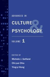 Advances in Culture and Psychology – Volume 1 | Oxford Scholarship Online