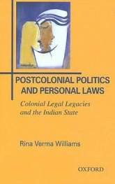 Postcolonial Politics and Personal Laws