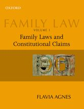 Family Law Volume 1Family Laws and Constitutional Claims