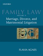 Family Law Volume 2Marriage, Divorce, and Matrimonial Litigation