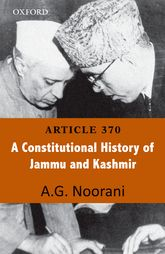 Article 370A Constitutional History of Jammu and Kashmir$