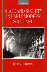 State and Society in Early Modern Scotland$
