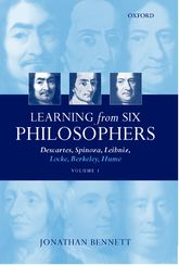 Learning from Six Philosophers Volume 1$