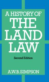 A History of the Land Law$