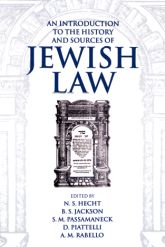An Introduction to the History and Sources of Jewish Law$