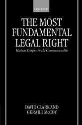 The Most Fundamental Legal RightHabeas Corpus in the Commonwealth$