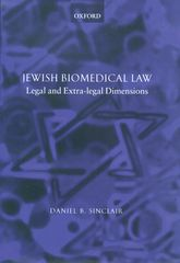 Jewish Biomedical Law