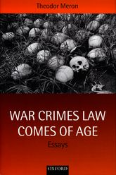 War Crimes Law Comes of AgeEssays$