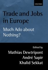 Trade and Jobs in Europe – Much Ado About Nothing? | Oxford Scholarship Online