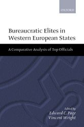 Bureaucratic Elites in Western European StatesA Comparative Analysis of Top Officials