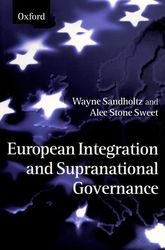 European Integration and Supranational Governance