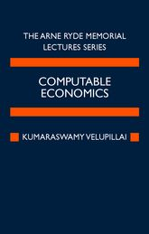 Computable EconomicsThe Arne Ryde Memorial Lectures