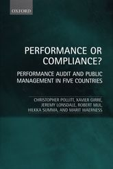 Performance or Compliance?Performance Audit and Public Management in Five Countries$