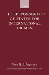 The Responsibility of States for International Crimes$