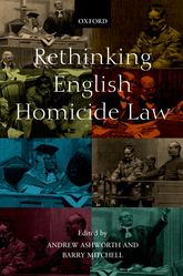 Rethinking English Homicide Law$