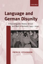 Language and German Disunity