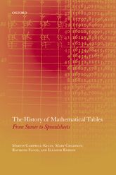 The History of Mathematical Tables – From Sumer to Spreadsheets | Oxford Scholarship Online
