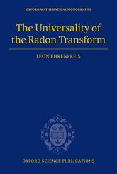 The Universality of the Radon Transform$