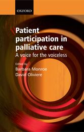 Patient Participation in Palliative CareA voice for the voiceless$