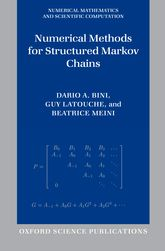 Numerical Methods for Structured Markov Chains$