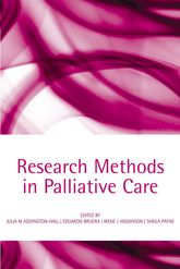 Research Methods in Palliative Care