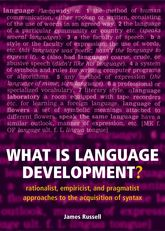 What is Language Development