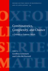Combinatorics, Complexity, and Chance$