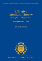 Effective Medium TheoryPrinciples and Applications$