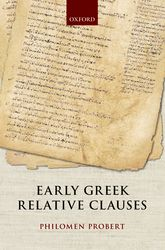 Early Greek Relative Clauses$