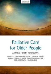 Palliative care for older peopleA public health perspective$