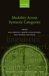 Modality Across Syntactic Categories - Oxford Scholarship Online