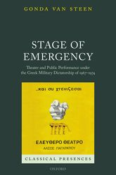 Stage of Emergency – Theater and Public Performance under the Greek Military Dictatorship of 1967–1974 | Oxford Scholarship Online