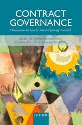 Contract GovernanceDimensions in Law and Interdisciplinary Research$