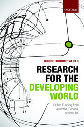 Research for the Developing WorldPublic Funding from Australia, Canada, and the UK$