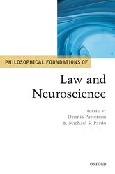 Philosophical Foundations of Law and Neuroscience$