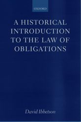 A Historical Introduction to the Law of Obligations$